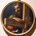 Bartolomeo di david, testate di bara dalla compagnia di s. onofrio, 1532 (siena, museo civico), sant'andrea.jpg