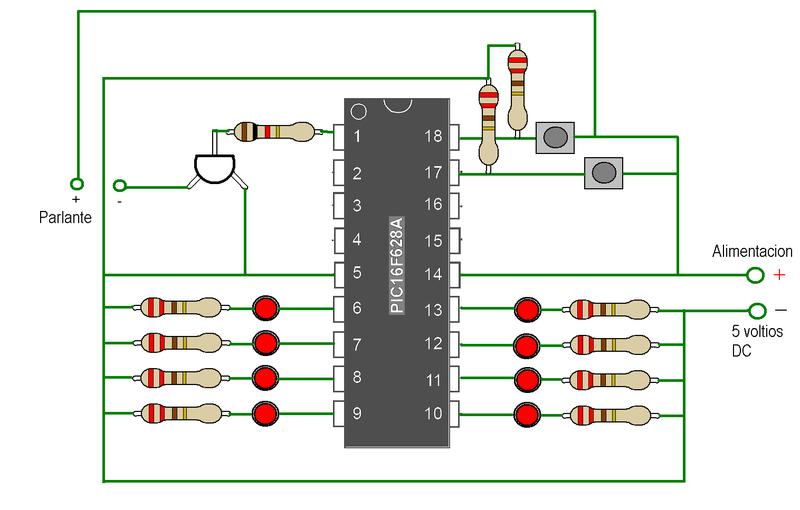 Circuito Luces Led Intermitentes : Un circuito básico wikiversidad