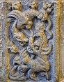 Basilique Saint-Sauveur de Dinan (Côtes d'Armor), chapelle axiale, panneau renaissance, serpent et dragon.jpg