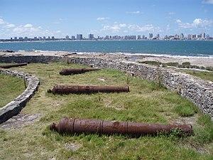 Gorriti Island - Abandoned cannons