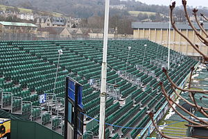 Recreation Ground (Bath) - Temporary seating