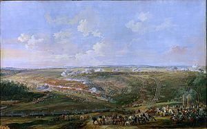 Blarenberghe - Battle of Fontenoy by Louis-Nicolas van Blarenberghe