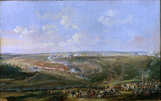 The Battle of Fontenoy between the French and the British, by Louis-Nicolas van Blarenberghe Battle of Fontenoy 03.jpg