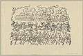 Battle of the Golden Spurs, print by James Ensor, 1897, Prints Department, Royal Library of Belgium, S. II 89836.jpg