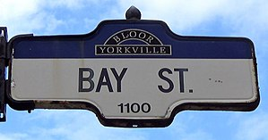 Bay Street - Image: Bay Street Sign