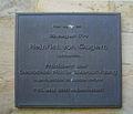 Bayreuth 24.05.08 Gedenktafel Heinrich von Gagern Ludwigsstrasse 21.jpg