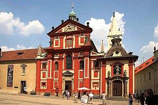 Church in Prague, Czech Republic