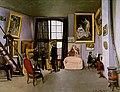 Bazille - Bazille's Studio; 9 rue de la Condamine, 1870.jpg