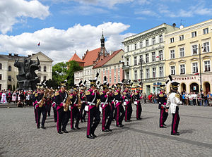 May 3rd Constitution Day - May 3 parade in Bydgoszcz, Poland, 2014