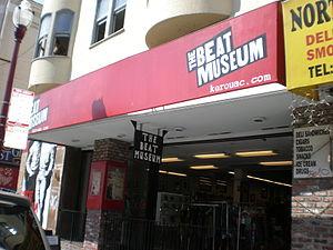 The Beat Museum on Broadway Street in San Fran...