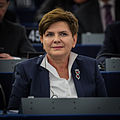 Beata Szydło au Parlement européen Strasbourg 19 janvier 2016.jpg