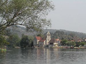 Altillac - View across the river from Altillac
