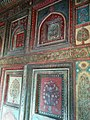 Beautiful Wall Painting even exists today in Rani Mahal Jhansi.jpg