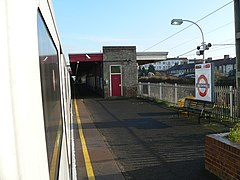 Becontree tube station westbound platform 2005-12-10.jpg