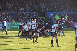 Bedford Blues - Bedford Blues playing the Cornish Pirates in 2008.