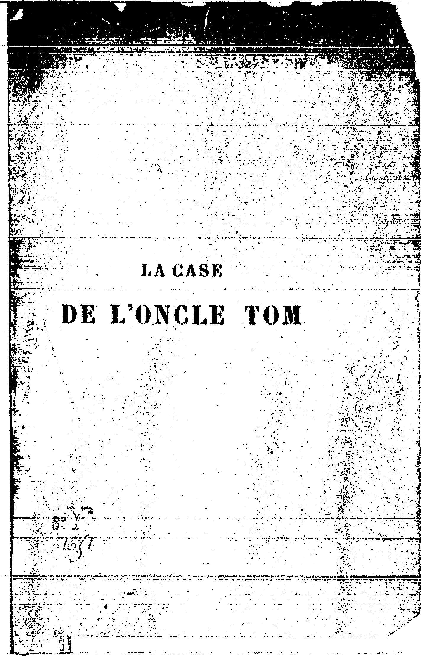 File beecher stowe la case de l oncle tom sw belloc - Case de l oncle tom guirlande ...