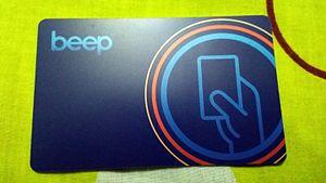 Strong Republic Transit System - Beep Card