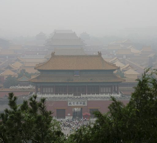 Beijing Forbidden City Smog