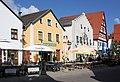 Beilngries, Häuserzeile am südlichen Ende der Hauptstraße.JPG