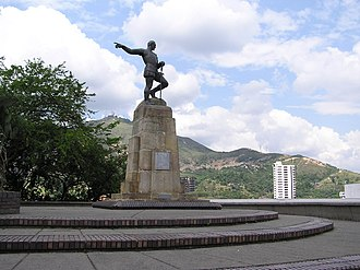 Sebastián de Belalcázar - Statue of Sebastián de Belalcázar in the Colombian city of Santiago de Cali