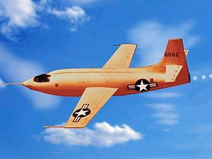 1947 in the United States - October 14: Chuck Yeager breaks the sound barrier in the Bell X-1