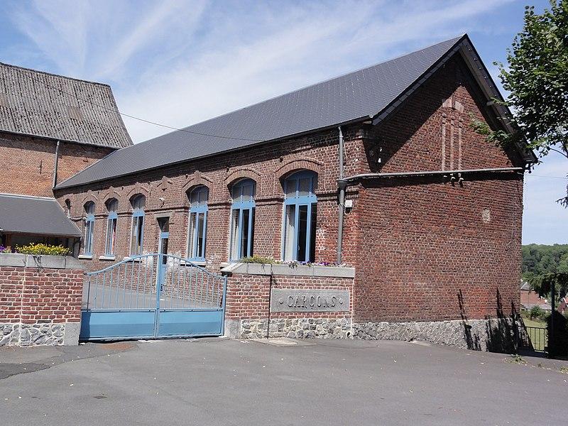 Bellignies (Nord, Fr) école des garçons
