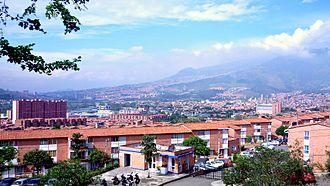 Bello, Antioquia - Image: Bello panoramica