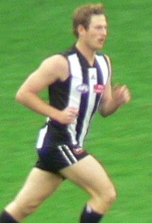 Ben Johnson (footballer) - Ben Johnson playing for Collingwood during the 2006 AFL Season