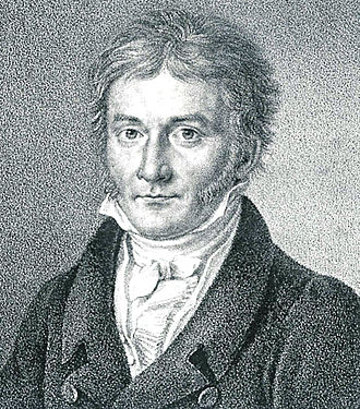 Professor Moriarty - Gauss' portrait published in Astronomische Nachrichten 1828