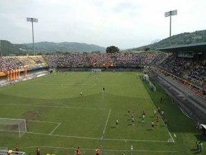 Stadio Ciro Vigorito - Image: Benevento BN, Italy panoramio Roby P (9)