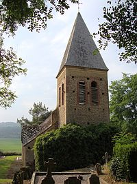 Bentayou (Bentayou-Sérée, Pyr-Atl, Fr) Église coté tour.JPG