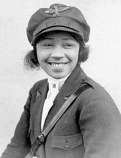 Bessie Coleman American aviator