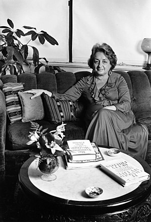 Betty Friedan - Betty Fredan photographed by Lynn Gilbert, 1981