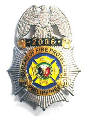 Bureau of Fire Protection - Badge of the Bureau of Fire Protection.