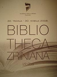 Bibliotheca Zriniana (Croatia) - katalog.jpg