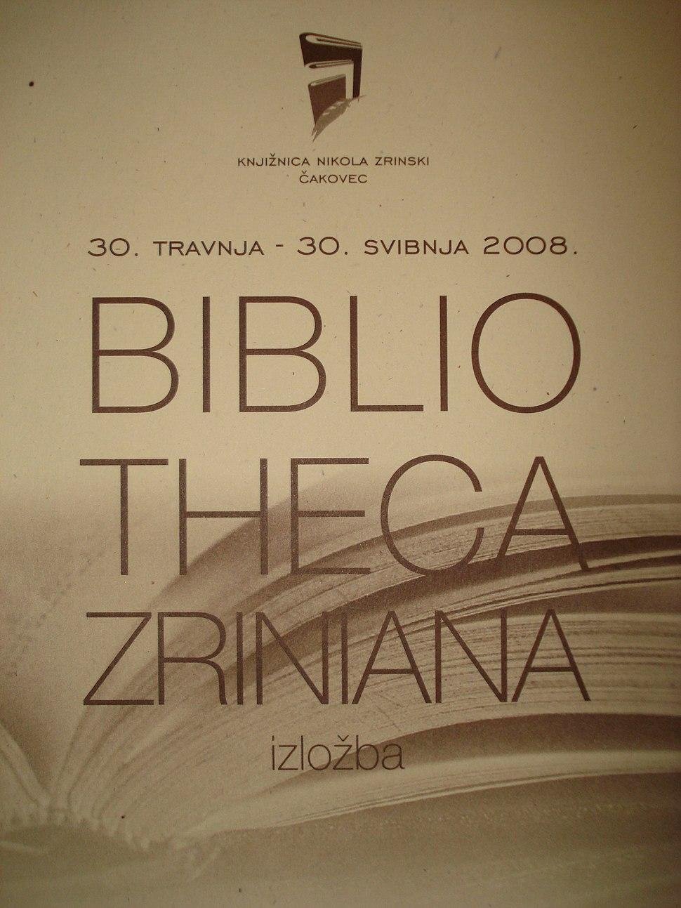 Bibliotheca Zriniana (Croatia) - katalog