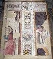 Bicci di lorenzo, santo (1390), e resti di affreschi di antonio veneziano (1370), 01.JPG