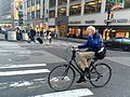 Bill Cunningham on Bike in Midtown on May 12th 2016.jpg