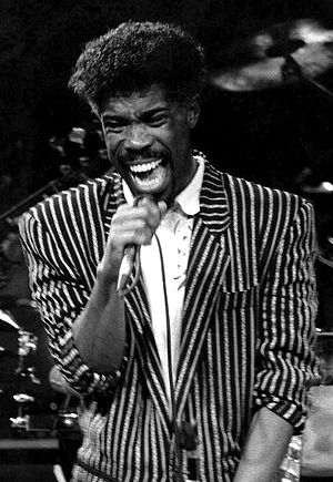 Billy Ocean - Ocean performing in New York, 1988