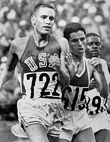 Billy Mills and Mohammed Gammoudi 1964.jpg
