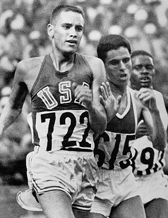 Billy Mills - Mills (left) and Gammoudi at the 1964 Olympics