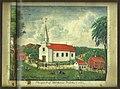 Birkenes gamle kirke. Prospekt 1845.jpg