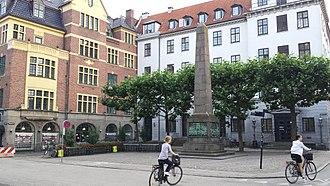 Reformation Memorial, Copenhagen - Image: Bispetorv (Copenhagen)