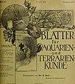 Blätter für Aquarien- und Terrarien-Kunde (1905) (20199344510).jpg