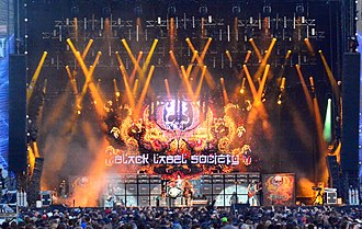 Black Label Society - Black Label Society performing at Wacken Open Air 2015