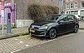 Black VW Golf GTE charging fl, Amsterdam (20150224 102438).jpg