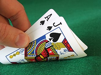"""Glossary of blackjack terms - Blackjack also called a """"natural 21"""""""