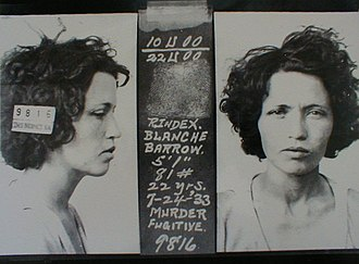 Barrow Gang - Image: Blanche Barrow Mug 1933