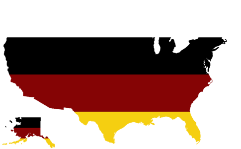Blank USA Map w American Indian colors