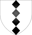 Blazon of the Daniell family of Acton.png